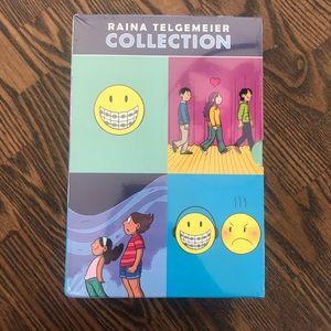 NWT Raina Telgemeier Book Set (kids)